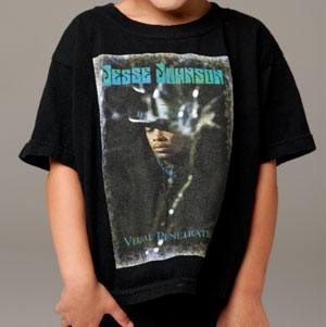 Children's Black T-shirt, front